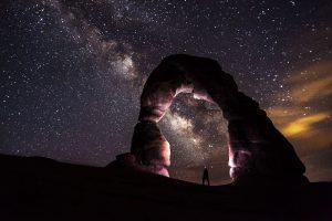 viendo las estrellas