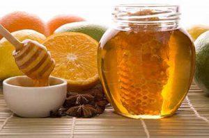 miel y cítricos