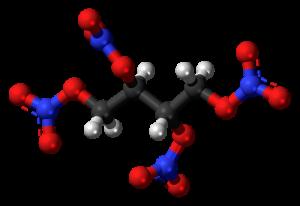 eritritol en 3D formula