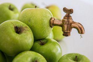 Batidos detox de manzana
