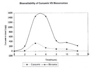 biocurcumax vs curcumina biodisponibilidad