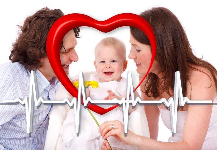 Corazón feliz , Familia feliz