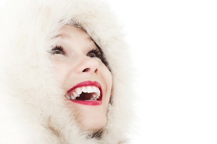 sonrisa con dentadura sana