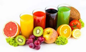 Zumos antioxidantes